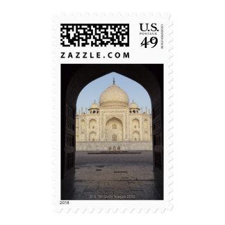 the Taj Mahal framed in the Mehmankhana doorway Postage Stamp