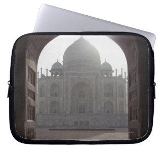 The Taj Mahal framed through the doorway to the Computer Sleeve
