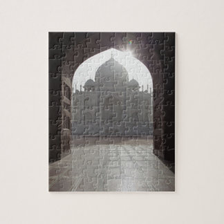 The Taj Mahal framed through the doorway to the Puzzle