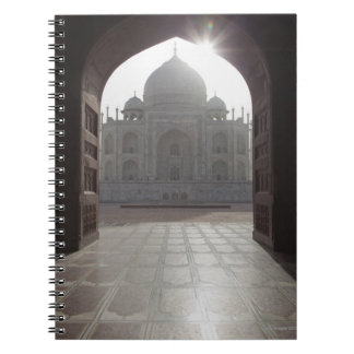 The Taj Mahal framed through the doorway to the Spiral Notebooks