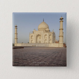 The Taj Mahal from Mehmankhana (guest house) Pinback Button