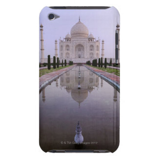 the Taj Mahal perfectly reflected in the pool in iPod Case-Mate Case