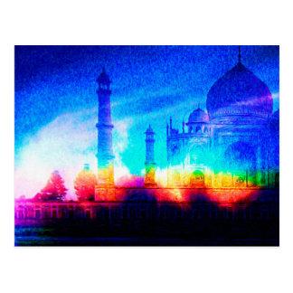 The Taj Mahal Postcard