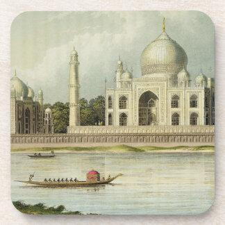 The Taj Mahal Tomb of the Emperor Shah Jehan and Coaster