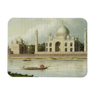 The Taj Mahal Tomb of the Emperor Shah Jehan and Vinyl Magnet