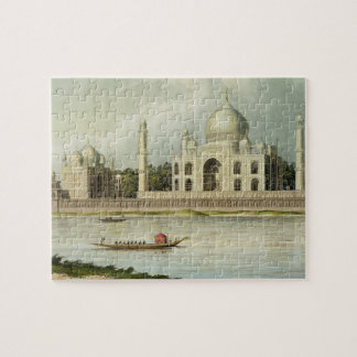 The Taj Mahal, Tomb of the Emperor Shah Jehan and Jigsaw Puzzles