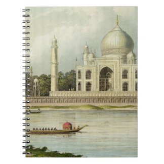 The Taj Mahal, Tomb of the Emperor Shah Jehan and Spiral Notebook