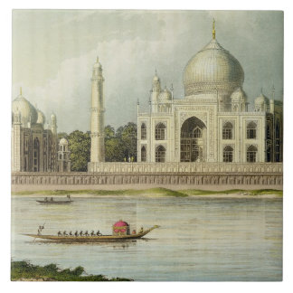 The Taj Mahal Tomb of the Emperor Shah Jehan and Tile