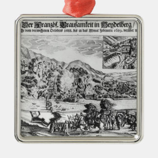 The taking and destruction of Heidelberg by Metal Ornament