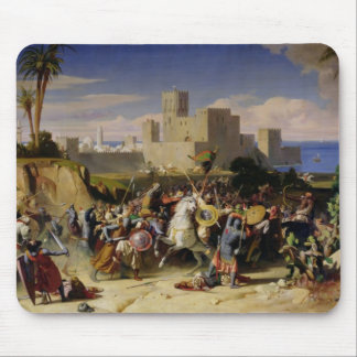 The Taking of Beirut by the Crusaders Mouse Pad