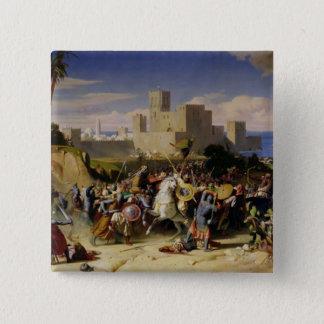 The Taking of Beirut by the Crusaders Pinback Button