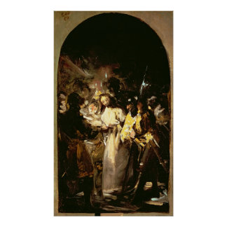 The Taking of Christ, c.1798 Poster