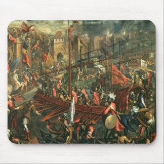 The Taking of Constantinople (oil on canvas) Mouse Pad