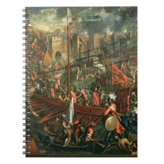 The Taking of Constantinople (oil on canvas) Notebook