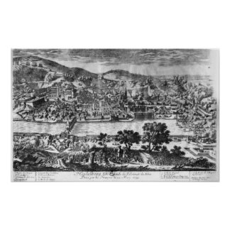 The taking of Heidelberg on 22th May 1693 Poster