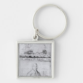 The Taking of the Acapulco Ship, 20th June 1743 Keychain