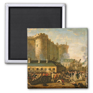 The Taking of the Bastille, 14 July 1789 2 Inch Square Magnet