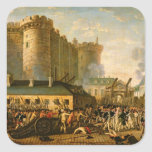 The Taking of the Bastille, 14 July 1789 Square Sticker