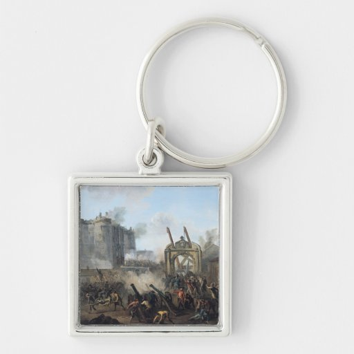 The Taking of the Bastille, 14th July 1789 Key Chains