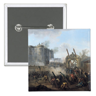 The Taking of the Bastille, 14th July 1789 Pinback Button