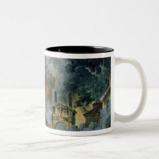The Taking of the Bastille, 14th July 1789 Two-Tone Coffee Mug