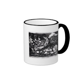 The Taking of the City of Washington in Mugs