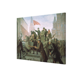 The Taking of the Moscow Kremlin in 1917, 1938 Canvas Print