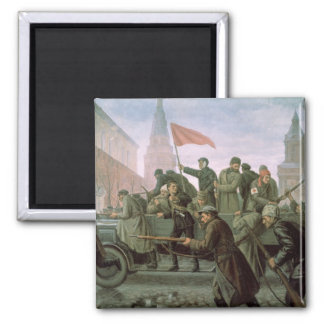 The Taking of the Moscow Kremlin in 1917, 1938 Refrigerator Magnet