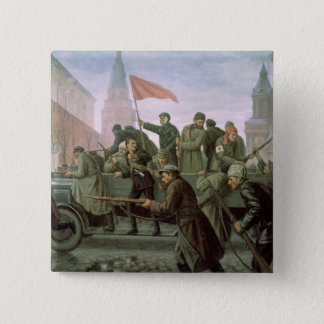 The Taking of the Moscow Kremlin in 1917, 1938 Pinback Button
