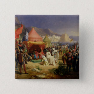 The Taking of Tripoli, April 1102, 1842 Pinback Button