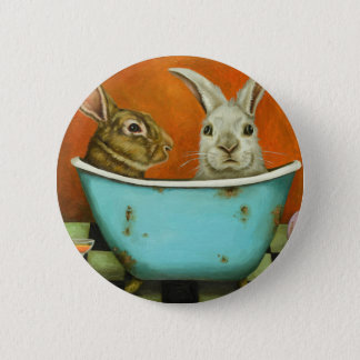 The Tale Of Two bunnies Pinback Button