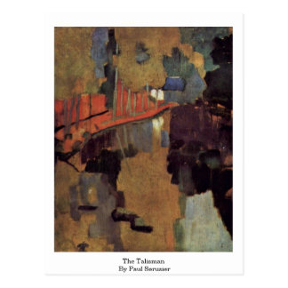 The Talisman By Paul Serusier Postcard