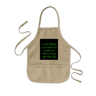 The Talker Kids' Apron