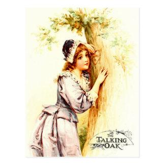 The Talking Oak Tree Postcard