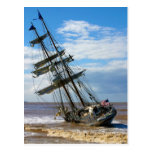 The Tall Ship Irving Johnson Postcard