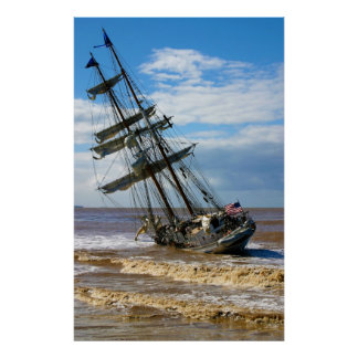 The Tall Ship Irving Johnson Poster