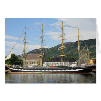 The tall ships races in Bergen 2014 Card