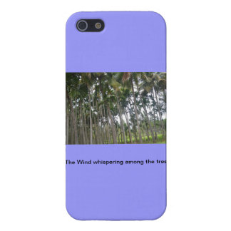 The tall trees iphone case