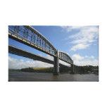 The Tamar Bridges Canvas Print