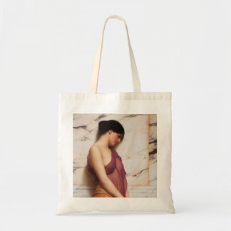 The Tambourine Girl by John William Godward Tote Bag