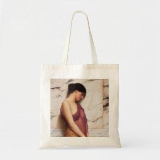The Tambourine Girl by John William Godward Tote Bag