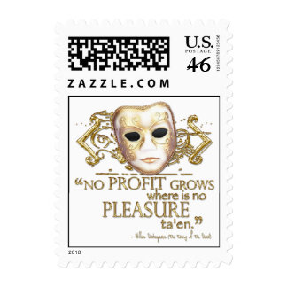 The Taming of the Shrew Quote Gold Version Postage