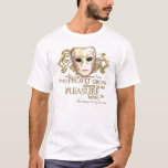 The Taming of the Shrew Quote (Gold Version) T-Shirt