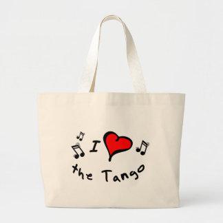 the Tango I Heart-Love Gift Canvas Bags