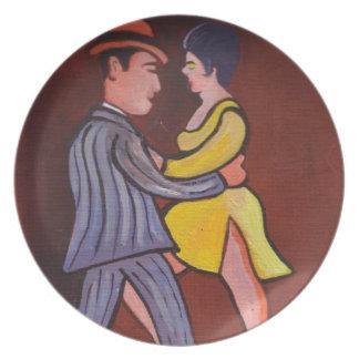 The tango plate