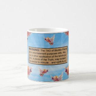 The Tao of Stubbie Pencil Disclaimer Mug