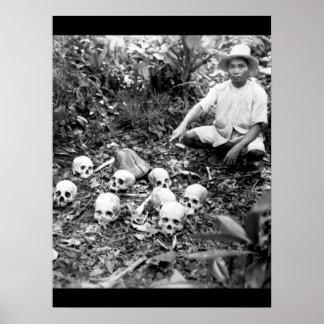The Tapel Massacre on 1 July 1945_War Image Poster