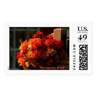The tapestry of fall Postage Stamp