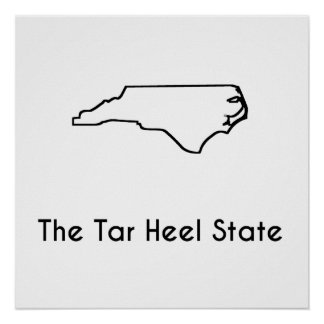 The Tar Heel State Poster