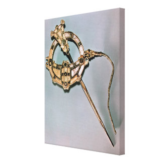 The Tara Brooch, from Bettystown, County Meath (ca Stretched Canvas Print